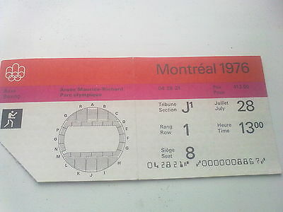 Ticket Olympic Games MONTREAL 28.07.1976 - BOXING (13:00)