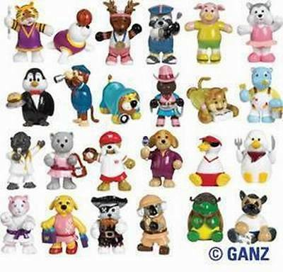 Webkinz RARE LOT COMPLETE SET 24 SERIES 2 FIGURINES WE000462  NEW W/FEATURE CODE