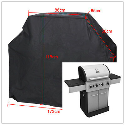 BBQ Cover Outdoor Garden Patio Gas Grill Housses Protection Barbecue Etanche NF