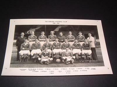 Chelsea Fc 1949-1950 Roy Bentley John Harris Harry Medhurst Original Rare Photo