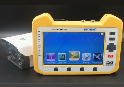 Satellite Finder SH-900HD with built in CCTV function