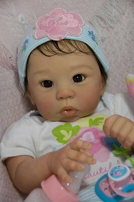 CUSTOM ORDER Reborn Doll Baby Girl Eleanor by Laura Tuzio Ross Asian Baby