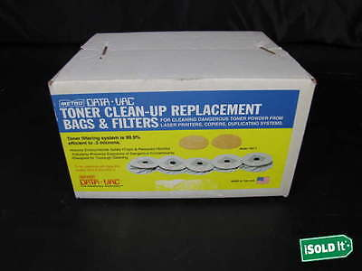 Metro Data Vac Toner Clean Up Replacement Bags And Filters Mdv2 Mdv3