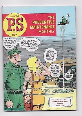 1977 ARMY PS MAGAZINE Preventive Maintenance Monthly Issue 295