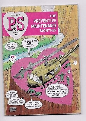 1980 ARMY PS MAGAZINE Preventive Maintenance Monthly Issue 327
