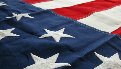 5' x 9.5' FT US American Burial Interment Flag 100% Cotton Bunting Flagsource