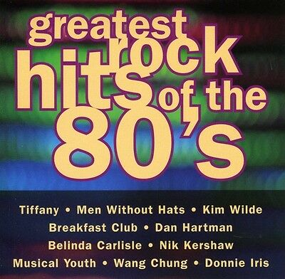 Various Artists - Greatest Rock Hits of the 80's / Various [New CD]