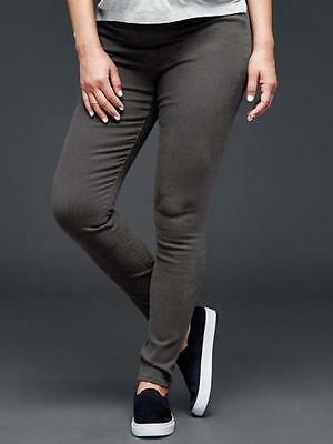 Nwt F 2015 Gap Maternity 1969 Resolution Pull On Legging Gray Jeans 29 Reg 8 Re