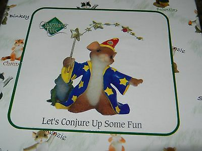 Charming Tails LET'S CONJURE UP SOME FUN Magician Wizard NEW in box!