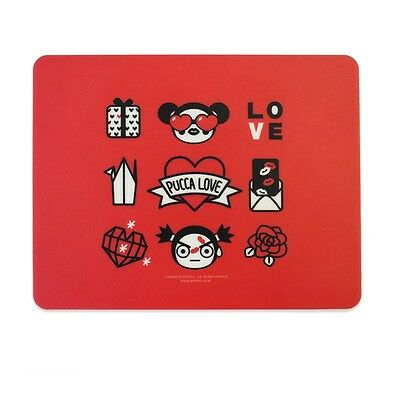 PUCCA : Animation Character Collectibles Mousepad, Mouse Pad Mat (Type F)