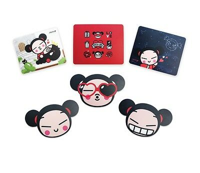 PUCCA : Animation Character Collectibles 6 Mousepad Full Set, Mouse Pad Mat