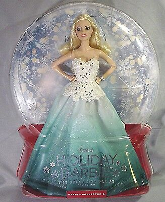 Mattel Peace Hope Love Collection Holiday Barbie Doll from 2016 NIB NRFB