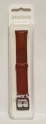 Genuine Samsung Gear S2 Watch Classic Band Brown Leather - ET-SLR73