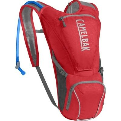Camelbak Rogue Hydration Pack with 2.5L Bladder - Racing Red/Silver