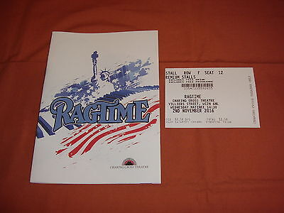 RAGTIME the Musical  Original 2016 WEST END Theatre Programme *BRAND NEW*