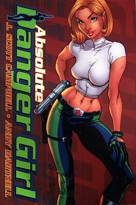 Danger Girl Absolute Edition New Sealed Gen13 Scott Campbell Limited And Signed