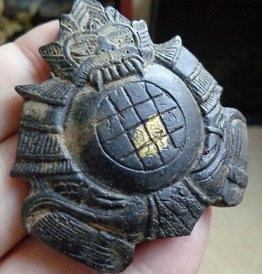 Thai  Phra Rahu  Buddha  Cocunut Shell Carved Amulet