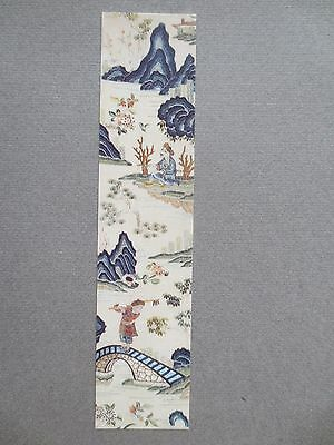 Bookmark V & A Victoria and Albert Museum Chinese Silk Sleeveband 19th Century