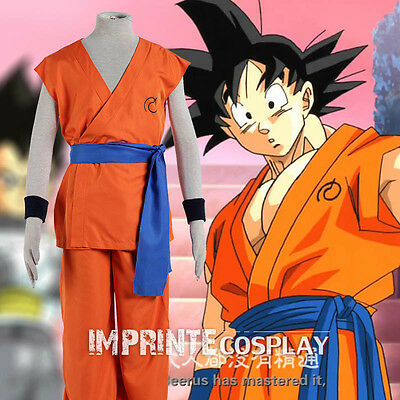 Dragon Ball Super Goku Cosplay Kostüm Vollständiges Set