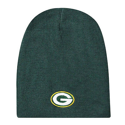 Green Bay Packers Knit Non-Cuffed NFL Beanie - Green