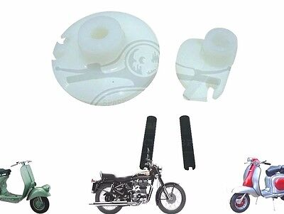 Lambretta Gp Li Gear & Throttle Roller Set Pully Set With Pins @cad