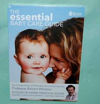 The Essential Baby Care Guide 4 x DVD'S New Sealed Professor Robert Winston