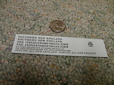 Herald King decals HO Susquehanna NYS and W passenger silver    XX156