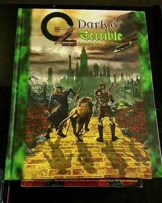 Oz: Dark And Terrible Roleplaying Game Core Rulebook Hardcover Rpg Oop Wizard Of