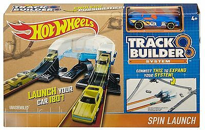 Hot Wheels Playset Track Builder System - Spin Launch - DNB70 - NEW