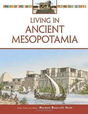 Living in Ancient Mesopotamia (Living in the Ancient Wo - Hardcover NEW Hunt, No