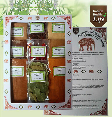 Curry Kit - Makes up to 24 authentic delicious home made curries - Post Free
