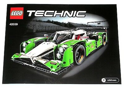 LEGO Technic 24 Hours Race Car ORIGINAL INSTRUCTIONS ONLY 42039