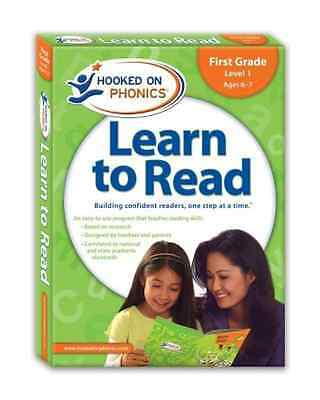 Hooked on Phonics Learn to Read, First Grade, Level 1 [ - Paperback NEW Hooked o