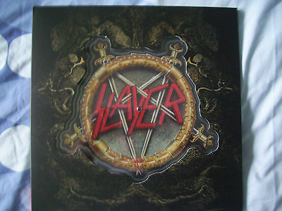 "Slayer You Against You 7"" Shaped Picture Disc Brand New"