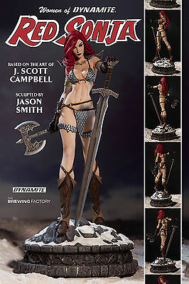 Dynamite Entertainment Women of Dynamite Red Sonja Statue New