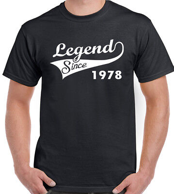 Legend Since 1954 Mens Funny T Shirt Gift for Him Dad Grandad