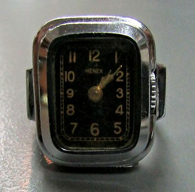Rare Vintage Henex Ring Watch
