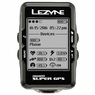 Lezyne Super Navigate GPS Bike Cycle Cycling Computer - Head Unit Only