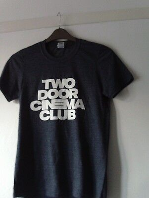 Two Door Cinema Club New Small T Shirt Chest 32 Inches Grey Free Uk Post