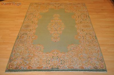 4x6 ft. Antique Persian Kerman circa 1930's mint/Paris green rug #PM75