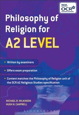 Philosophy of Religion for A2 Level (Paperback), Wilkinson, Micha...