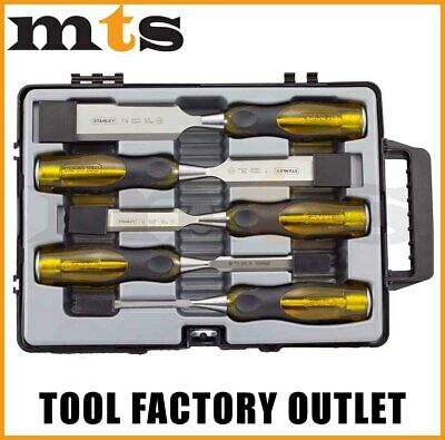 Stanley 2-16-269 Chisel Set - 5 Piece Thru Tang Made In England