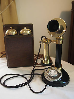Vintage Stromberg Carlson Candlestick Telephone