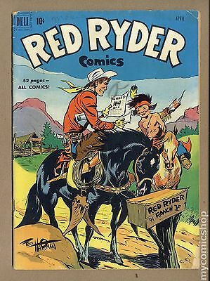Red Ryder Comics (1941) #93 VG 4.0