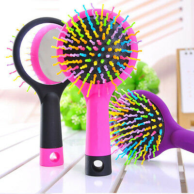 Hair Styling Tool Magic Comb Handle Tangle Detangling Brush Salon Head Massage