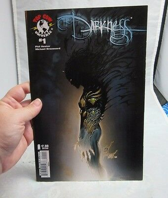 The Darkness #1 comic book. Top Cow Universe