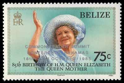 """BELIZE 773 (SG854) - Commonwealth Summit """"Queen Mother"""" (pa15797)"""