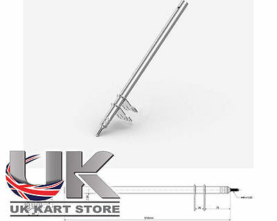 Colonne Direction M8 x 510mm UK KART STORE