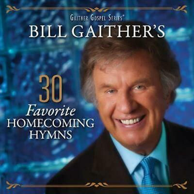 30 Favorite Homecoming Hymns - Gaither,Bill & Gloria CD-JEWEL CASE Free Shipping
