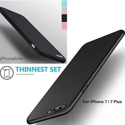 Slim Luxury Silicone Ultra-thin Soft TPU Back Case Cover For iPhone 6/6S/ 7 Plus